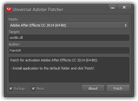 Adobe universal patcher 2018 download windows 7