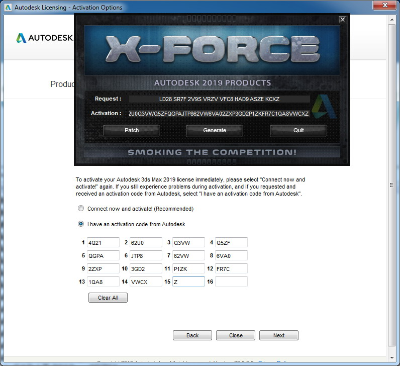 x force keygen for all autodesk products 2018 free download